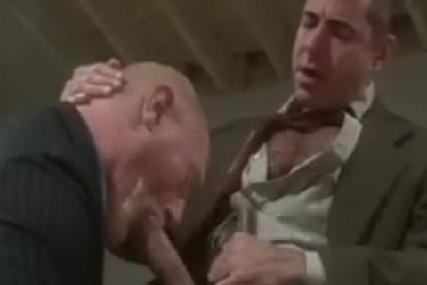 daddy males Giving fellatio job