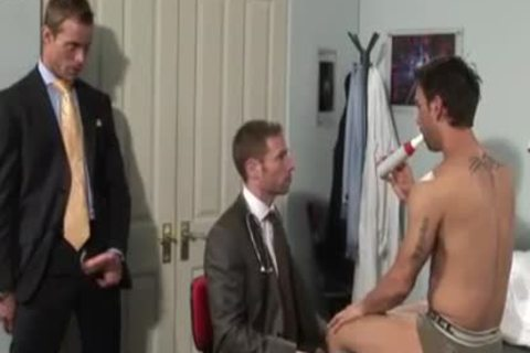 wicked Office three-some hammering & Cumming