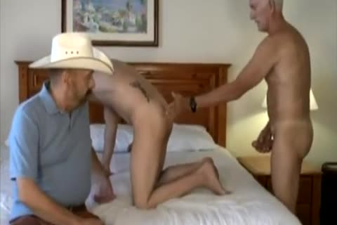 Cowb-y With Two daddy dudes