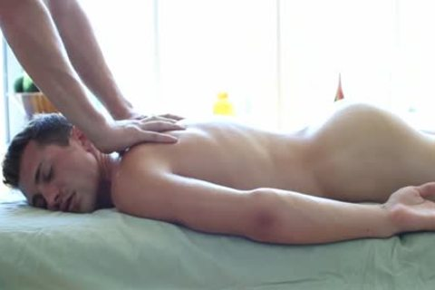 GayRoom Sensual Massage Turns Into lewd Sex