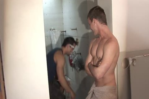 yummy homo Worker Getting plowed And came