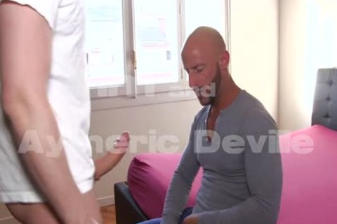 Aymeric Deville Has His arse pounded By Aymeric Deville