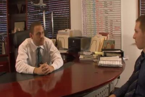 lusty homosexual males lick And Hump booties In The Office