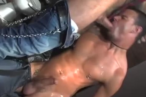 Three homo Pornstars All nailing jointly