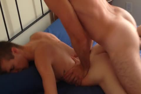 nailing A new twink At A allies Apartment.