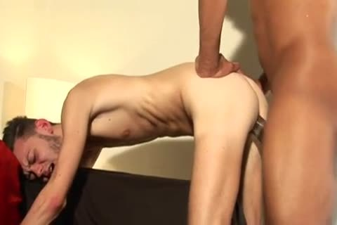 Skinny lad banged By A monstrous penis