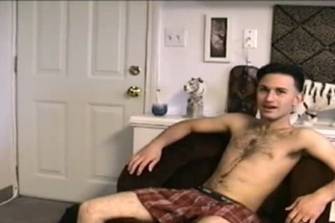 beautiful young man disrobes Down And Jerks Off 10-Pounder
