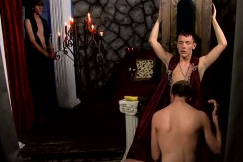 Ethan Storm gratifying His Masters dick