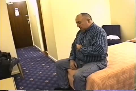 daddy man jerk off In Hotel Room