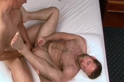 hairy Chest Is pounded By A lad