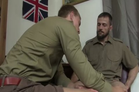 Military males Ram It In Each Others assholes