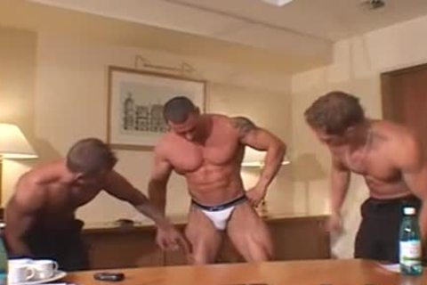 3 greater quantity dirty Muscle Posers
