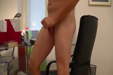 attractive boy fucks His wazoo With A sextoy