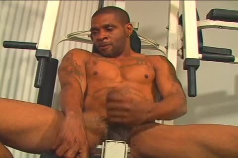 Alex pain Gives His enormous darksome cock A Hand Job