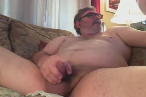 dad's anal Play And cum