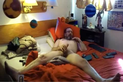 stunning old chap stroking On cam