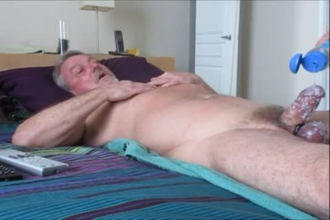 Stroking And engulfing another yummy-Waxed Wad From Farmer K.