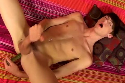 delicious brunette hair twink Elijah White Jerks His 10-Pounder And spooge
