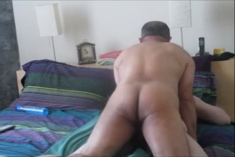 bi-sexual Columbian BearCock Beats Up both My Holes.
