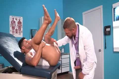 large penis Doctor And small arse Patient