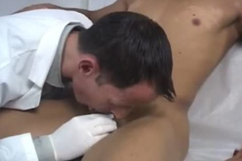 gigantic cock males homo The Doctor Had On His Pair Of