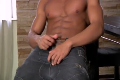 Pornstar Erick Lewis Wanks His Very Tremendous And In Charge big African rigid Member