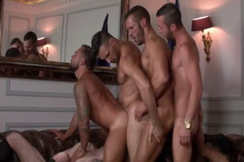 Some Very Powerful Hunky Muscle boyz Likes Some painfully bunch Keister Fornicating Session