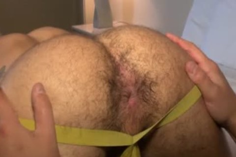 Muscle Bear raw With sex cream drinking