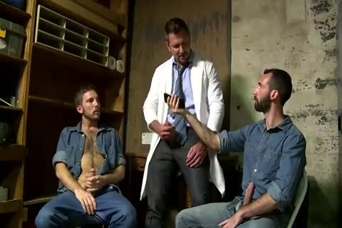 two Fit old boys Greek Gods In Rehab Doing The enchanting Doctor After Therapy