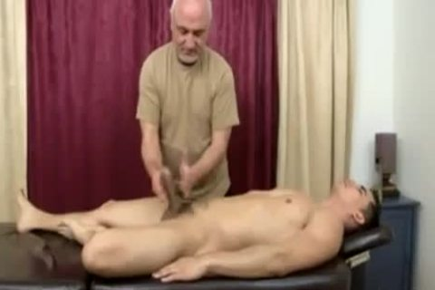 Topher Dimaggio Massage Turns Into An Dilf Oldie Grey dude Slurping His Salami