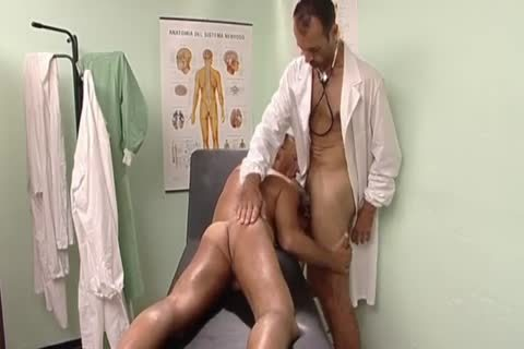 lusty Doctor plowing His Patient's wazoo