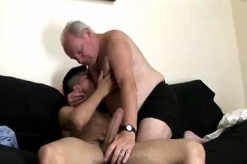 massive ramrod Daddy anal With ejaculation