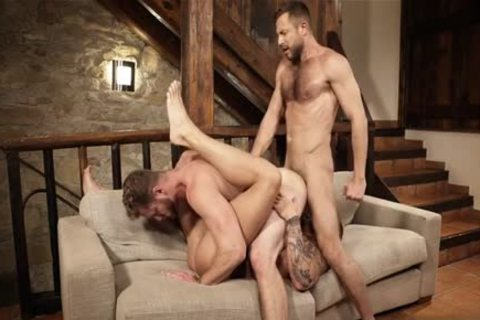 Muscle homo trio And Creampie