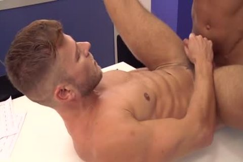 Muscle homosexual ass invasion With cumshot