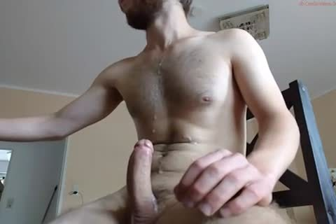 Blasting Out A admirable nasty cum shot