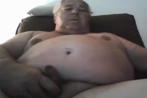 grand-dad stroke On cam