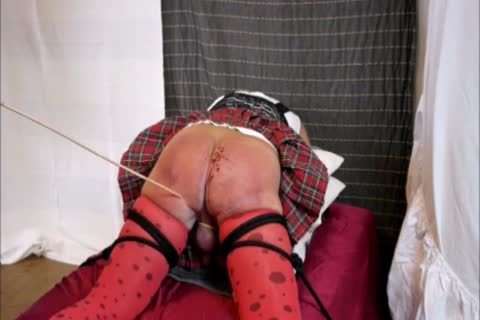 Crossdresser spanking And Caning