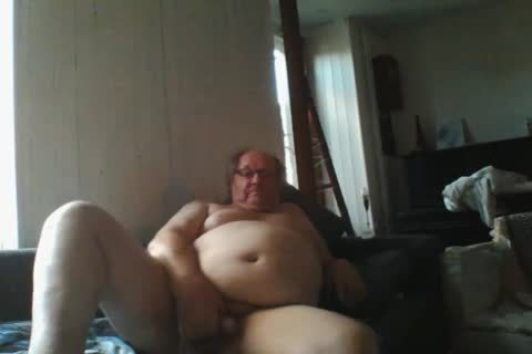 daddy man Sroke On webcam