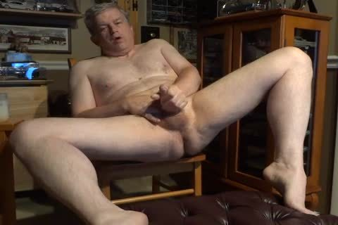 in nature's garb 60 Year old Daddy Masturbating