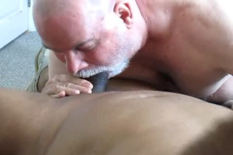 Flowing Nutt From A big-Dicked darksome