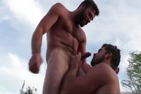 hairy homo Flip Flop With cumshot
