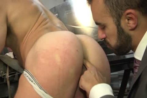 Muscle gay pooper invasion And Facial