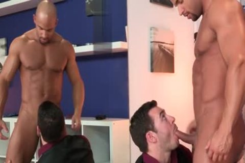 large dong homo blowjob And semen flow