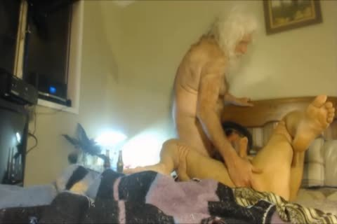 big Bear Barebacks A Bearded skank