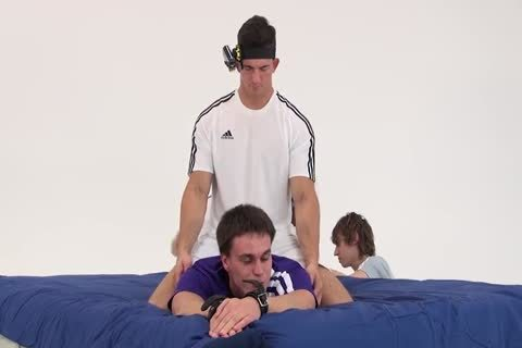 Ukranian twink Resists Being tied And Tickled With Some Success