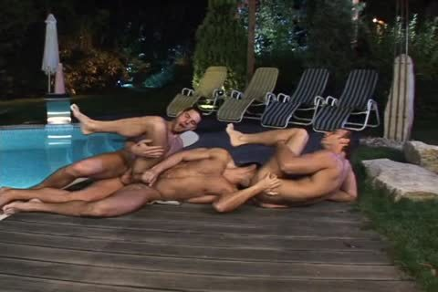 Uncut rod Pool Party Scene 4