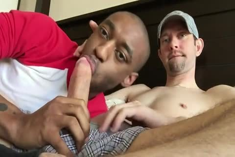White man gets Sucked By black chap