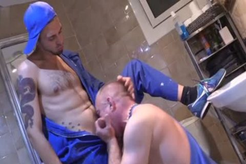 Latin gay Fetish And sperm flow