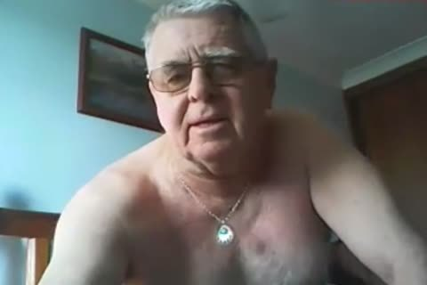 older man spooge On webcam