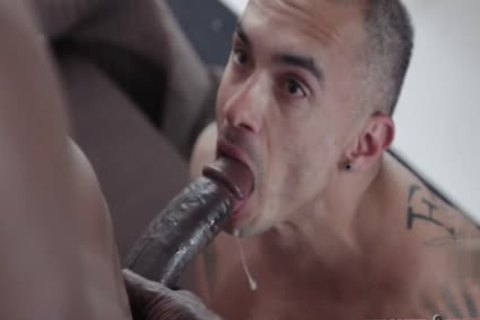 humongous weenie gay butthole job With Facial